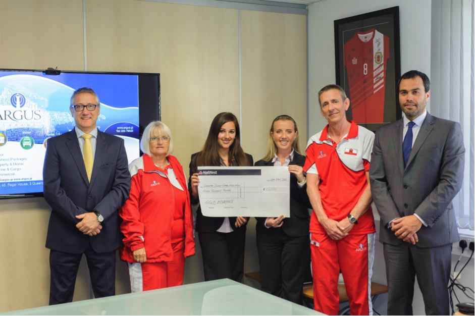 The Argus Group Sponsors Natwest Island Games XVI Kits For Jersey banner