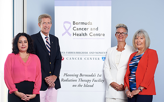 Bermuda Cancer and Health Centre announce substantial donation towards Radiation Therapy initiative from Argus and BF&M