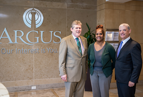 Argus Donates $5,000 to Bermuda Housing Trust