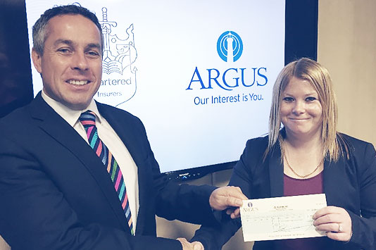 Argus Insurance Supports Research into Childhoold Cancer (RICC)