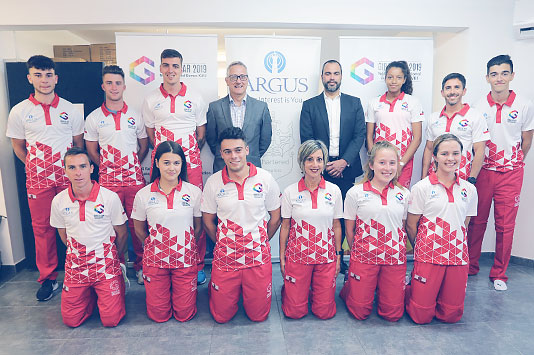 Team Gibraltar Kit Unveiled